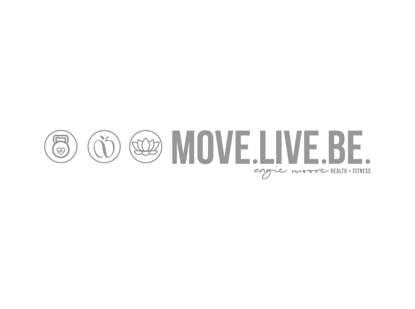 Move Live Be - Angie Moore